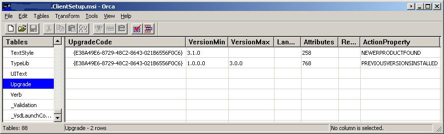 MSI Upgrade Removes Necessary Registry Entries! Help! « Ken Kopczyk